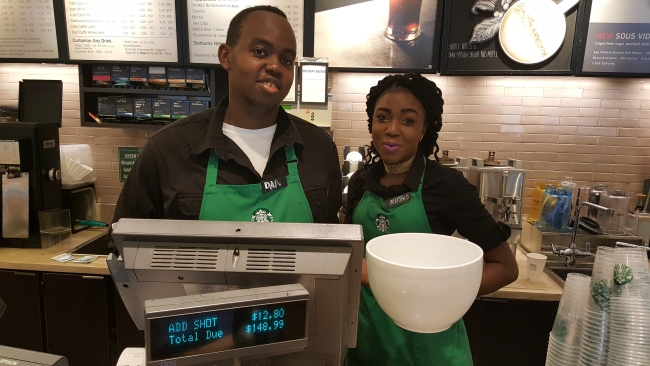 """The baristas have totaled the bill for the """"most expensive Starbucks coffee"""" ©SouthFloridaReporter.com"""