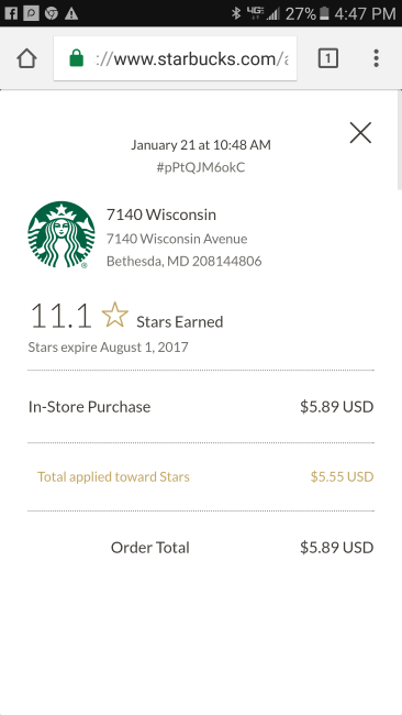 """The baristas had to adjust the bill for the """"most expensive Starbucks coffee"""" ©SouthFloridaReporter.com"""