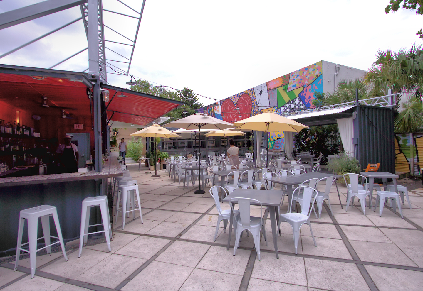 Charcoal Garden Bar and Grill