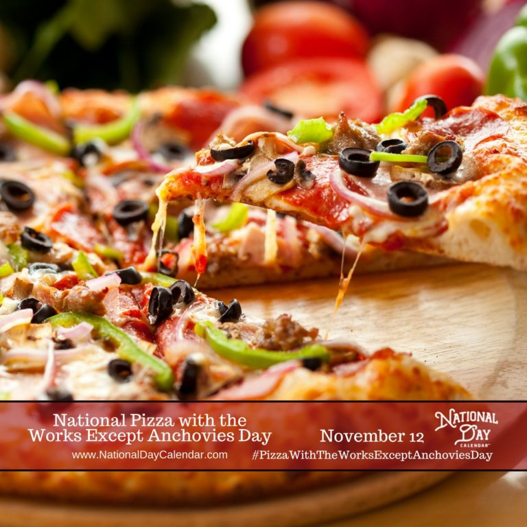Finally! It's Pizza with the Works Except Anchovies Day - South Florida  Reporter