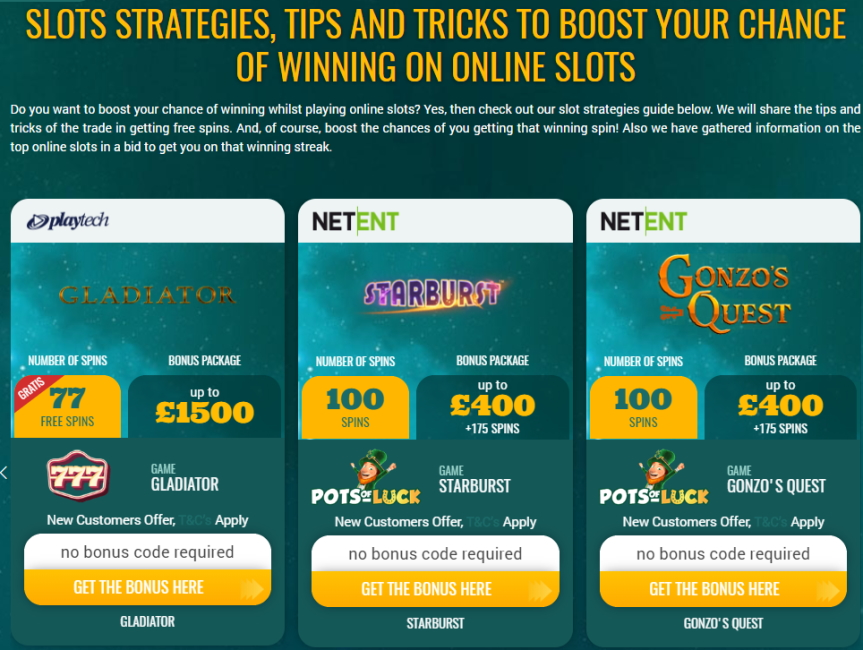 What Are The Best Online Slots And Which Strategies Should Be