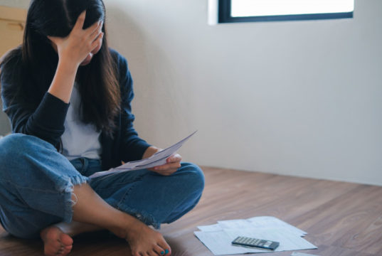 https://www.freepik.com/premium-photo/stressed-young-asian-woman-meet-financial-problem-credit-card-debt-with-no-money-pay-back_7777492.htm#page=1&query=debt&position=20