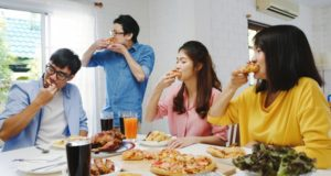https://www.freepik.com/free-photo/happy-young-friends-group-having-lunch-home-asia-family-party-eating-pizza-food-laughing-enjoying-meal-while-sitting-dining-table-together-house-celebration-holiday-togetherness_10074944.htm#page=1&query=family%20eating%20pizza&position=36