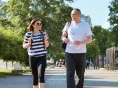 https://www.freepik.com/premium-photo/middle-aged-couple-sportswear-walking-talking-park_8654478.htm