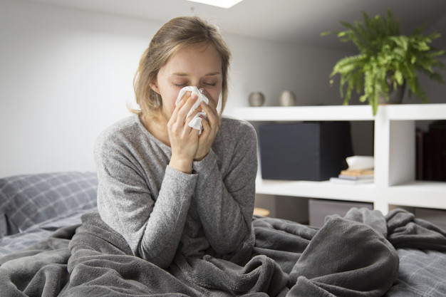 https://www.freepik.com/free-photo/sick-woman-sitting-bed-blowing-nose-with-napkin_4167100.htm#page=1&query=flu&position=6