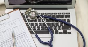 https://www.freepik.com/free-photo/top-view-laptop-with-stethoscope_977805.htm#page=2&query=internet+medicine&position=34