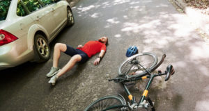 https://www.freepik.com/premium-photo/aerial-view-victim-asphalt-bicycle-silver-colored-car-accident-road-forest-daytime_9832991.htm#page=1&query=bicycle%20accident&position=1