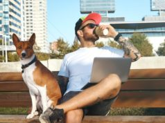 https://www.freepik.com/free-photo/young-man-with-beard-tattoos-laptop-his-knees-is-drinking-coffee-from-paper-cup-his-dog-sits-him_11898889.htm#page=2&query=man+coffee&position=7
