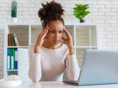 https://www.freepik.com/premium-photo/mulatto-woman-have-chronic-headache-touching-temples-relieve-pain-during-working-laptop_4894646.htm#page=4&query=chronic+fatigue&position=3