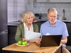 https://www.freepik.com/premium-photo/aged-couple-checking-finances-home-using-laptop-discussing-planning-budget-together-using-online-banking-services-calculator-holding-documents-kitchen_12715402.htm