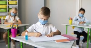 https://www.freepik.com/free-photo/kids-writing-classroom-while-wearing-medical-masks_10133906.htm#page=1&query=covid%20school&position=9