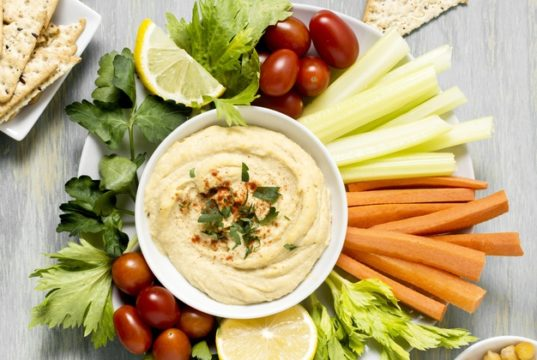 https://www.freepik.com/free-photo/top-view-hummus-with-assortment-vegetables_8481272.htm