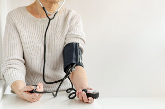https://www.freepik.com/premium-photo/woman-measuring-blood-pressure-by-herself-home-with-manual-device-self-care-medical-concept_7281886.htm#page=1&query=hypertension&position=14