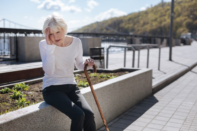 https://www.freepik.com/premium-photo/aging-sad-tired-woman-holding-hand-head-while-expressing-negative-emotions-resting-bench_12853396.htm