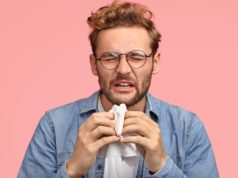https://www.freepik.com/free-photo/portrait-allergic-male-sneezes-all-time-rubs-nose-with-handkerchief-has-sick-look-suffers-from-cold-has-displeased-facial-exression-wears-denim-shirt-isolated-pink-people-disease-concept_10419365.htm#page=1&query=sneeze&position=22