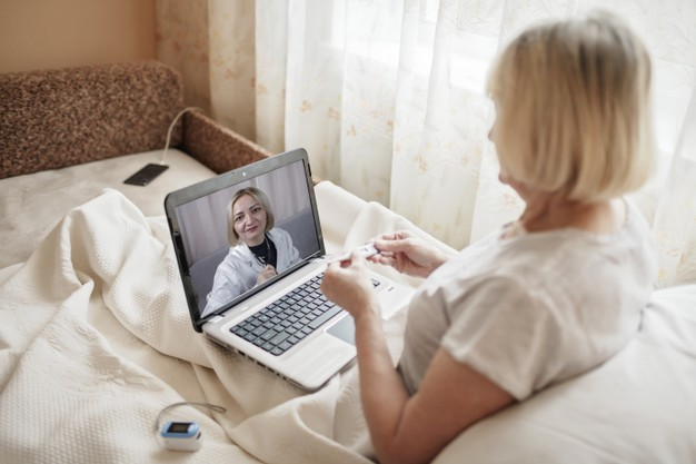 https://www.freepik.com/premium-photo/old-woman-bed-looking-screen-laptop-consulting-with-doctor-online-home-telehealth-services-during-lockdown-distant-video-call-modern-tech-healthcare-application_12475452.htm?query=telemedicine